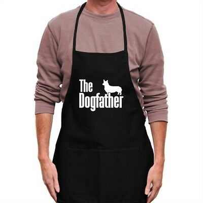 The dogfather Pembroke Welsh Corgi Apron