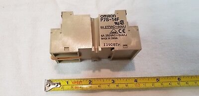 Omron P7S-14F 14-pin Relay Socket Base 277VAC 6A - Qty 1 Box of 10 items - New