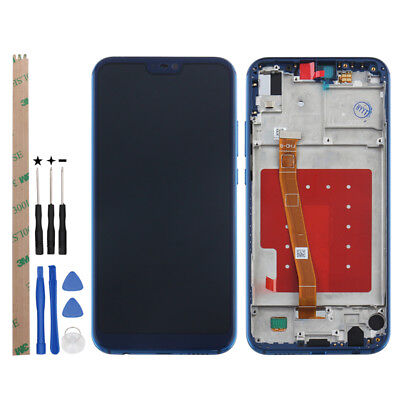 For Huawei p20 lite/nova 3e Replacement LCD Screen Touch Digitizer with Frame