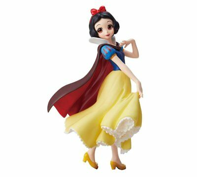 Crystalux Disney Characters Snow White Princess Figure Banpresto Japan Tracking