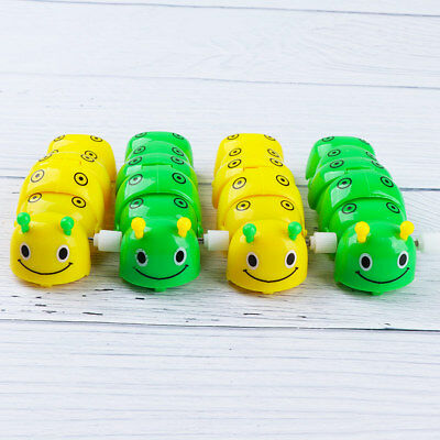 Kid's Lovely Plastic Caterpillar Wind Up Toy Color Random Baby Funny Gift