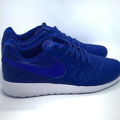 buy popular 138f3 3f2b2 Nike Mens Roshe Tiempo VI QS Size 11.5 853535 447 Blue-White New Size 11.5