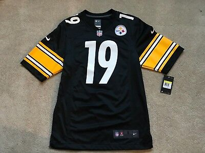 8f1e7a05315 Nike NEW JuJu Smith-Schuster Pittsburgh Steelers NFL Jersey NWT  100 Mens  Small