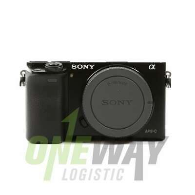 NEW Sony Alpha A6000 Mirrorless Digital Camera Black Body Only