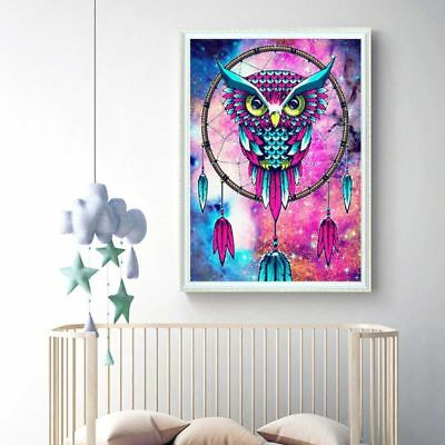 DIY 5D Full Drill Diamond Painting Eagle Dream Catcher Embroidery Cross Stitch