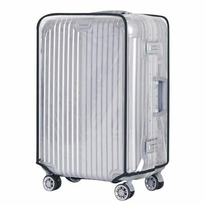 Waterproof Clear PVC Transparent Travel Outdoor Luggage Protector Suitcase Cover
