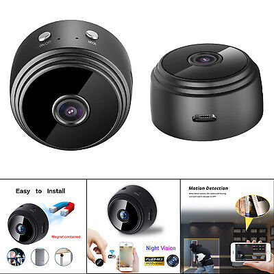 A9 HD 1080P Wifi Mini Security Camera Night Vision Cam Motion Detect Recorder