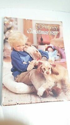Vintage JC Penney Christmas Catalog 1985 Toys Clothing 1980s Wish Book