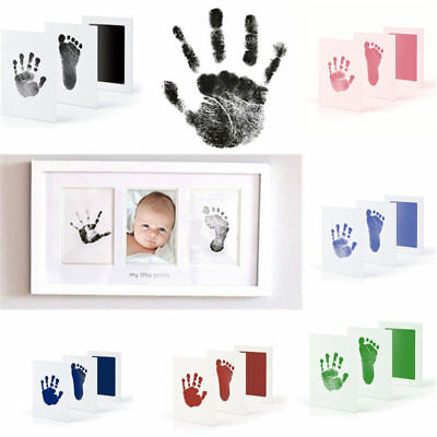 Baby Paw Print Pad Foot print Photo Frame Touch Ink Pad Baby Items Souvenir