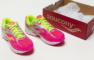 ba428660 SAUCONY GRID COHESION LTT Youth Girls Grey/Magenta SC46726 Lace Up ...