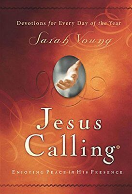 Jesus Calling: Enjoying Peace in His Presence by Sarah Young Worship Hardcover