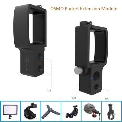 Osmo Pocket Gimbal Camera Extension Module Connection DJI OSMO POCKET Expansion