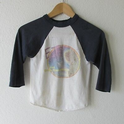 Vintage 80s E.T. The Extraterrestrial Youth Kids 3/4 Sleeve T-Shirt Soft Thin
