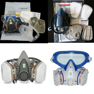 Respirator Painting Spray pesticide For 3M6200 5N11 6001 7502 Half face Gas Mask