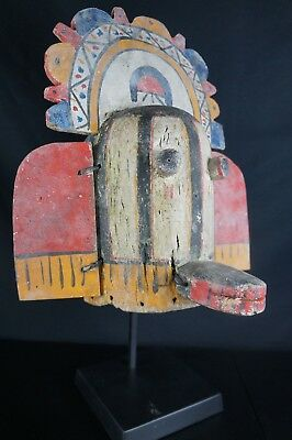 7# Antique Kachina MASK  - HOPI, Native American Plain Indians Early to Mid 20th