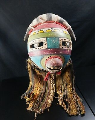 Antique Kachina MASK - HOPI -  Native American Plain Indians