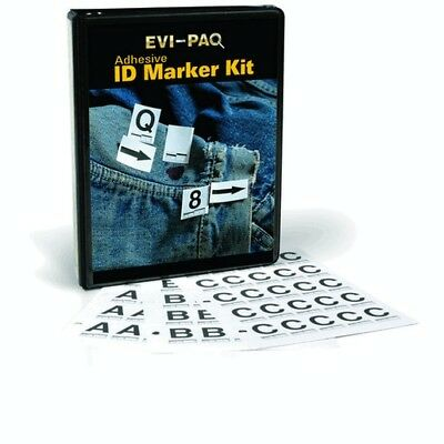 Armor Forensics AMB-COMBO Adhesive ID Marker Book Combo