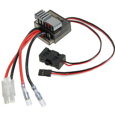 320A Brushed Brush Speed Controller ESC RC Car Truck Boat Reverse 1/8 1/10 UK