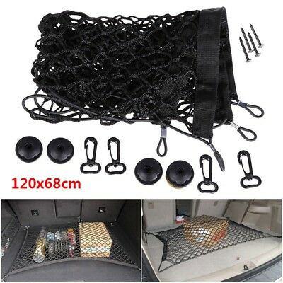 UNIVERSAL NET  CAR BOOT LUGGAGE TRUNK FLOOR STORAGE ORGANISER Elastic Mesh