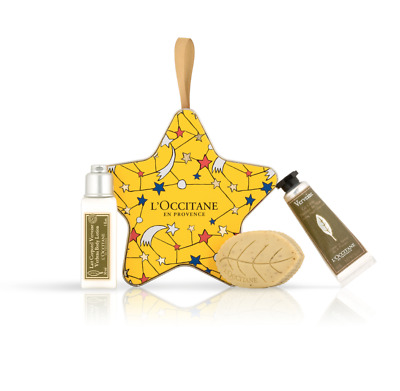 NEW L'Occitane Refreshing Verbena Christmas Star Bauble Perfect Gift 15%OFF