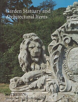 Garden Statuary & Architectural Items Auction Catalogue