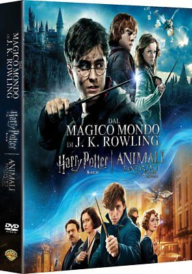 Harry Potter + Animali Fantastici -Wizarding World Collection-Rowling(9 Dvd)