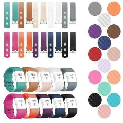 For Fitbit Charge 2 Silicone Replacement Fitness Sport Wrist Band Strap Bracelet