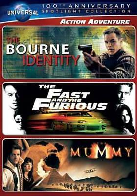 Action Adventure Spotlight Collection [The Bourne Identity, The Fast and the Fur