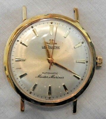 Rare Jaeger-LeCoultre Master Mariner 10K Yellow Gold Filled Automatic Watch