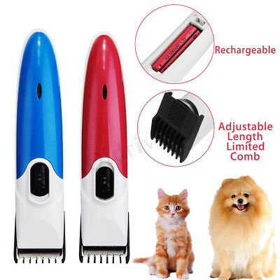 UK Electric Pet Dog Cat Grooming Clippers Cordless Hair Shaver Trimmer Cutting ☆