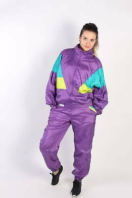 Vintage Sportwear Shell Tracksuits Set The Flagship WOMEN UK S Multi - SW2335