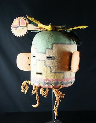 43# Antique Kachina HELMET - Hopi - Native American