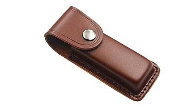 Leather Belt Sheath Scabbard Case Cover for Fixed Blade Folding Knife