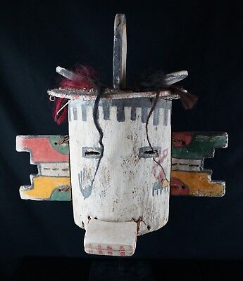 44# Antique Kachina MASK  - Pueblo, Native American  - LARGE!