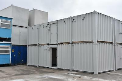 TWO 32′ x 10' Portable Building - Anti-Vandal 8 Bay Fire Rated Toilet Blocks