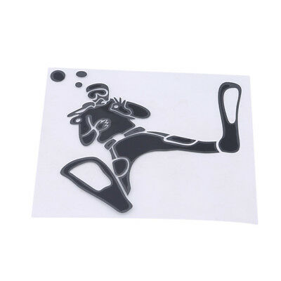 Fashion Reflective Car Auto Stickers Diving Technical Diver Decals Decoration N7