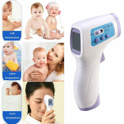Baby Adult Digital IR Infrared Body Thermometer Forehead Surface Temperature USA