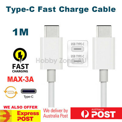 USB-C 3.1 Type-C to Type-C Male Data Sync Fast Charging Cable For Macbook Phones