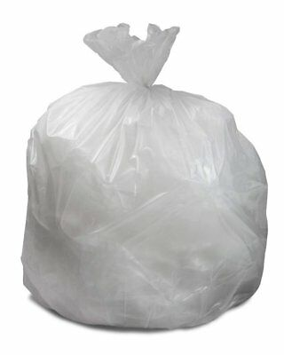 "Can Liners 30"" x 36"". Pack of 250 Low Density Clear Trash Bags. 20-30 Gallon."
