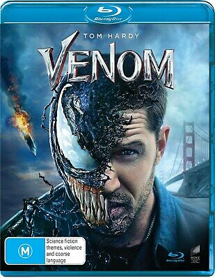 Venom with Digital Download Blu-ray Region B NEW