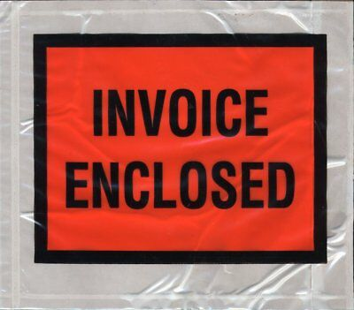 Invoice Enclosed Packing List Invoice 5000 4.5x5.5 Packing List Enclosed Front
