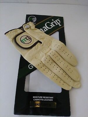 Master Grip DYNAGRIP Cabretta Leather Golf Glove  LEFT Medium Cadet Size