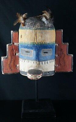 49# Antique Kachina MASK  - HOPI, Native American