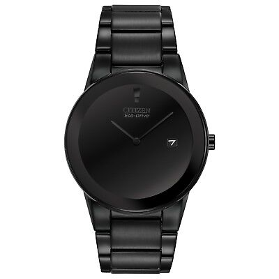 Citizen Eco-Drive Axiom Men's Black Out Ion Plated 40mm Watch AU1065-58E