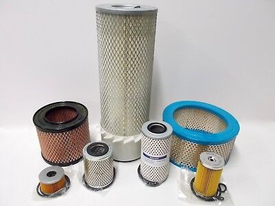 Filters for Lister Petter PH1 & PH2 engines