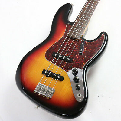 Fender USA American Vintage 1962 Jazz Bass 3-Color Sunburst 3Knob 2008 model