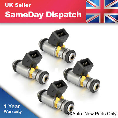 4X Petrol Fuel Injector for Fiat 500 Doblo Idea Punto Evo Qubo KA 1.2 1.4 IWP160