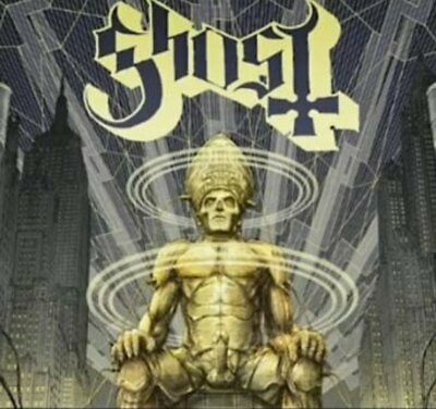 New Ghost CEREMONY AND DEVOTION cd Mexican Uncensored Edition Mexico