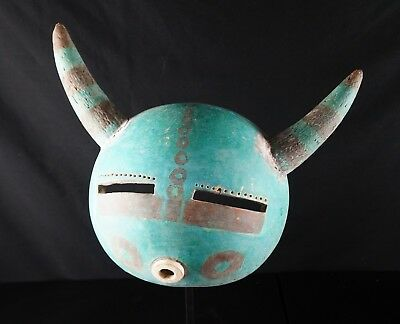 52# Vintage Kachina Mask - Native American, HOPI, From 60/70s