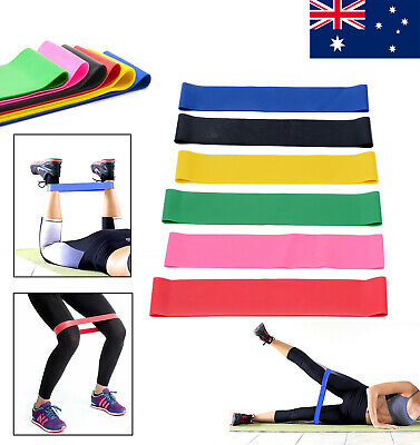 Resistance Loop Bands Exercise Mini Band Crossfit Strength Fitness Training Yoga